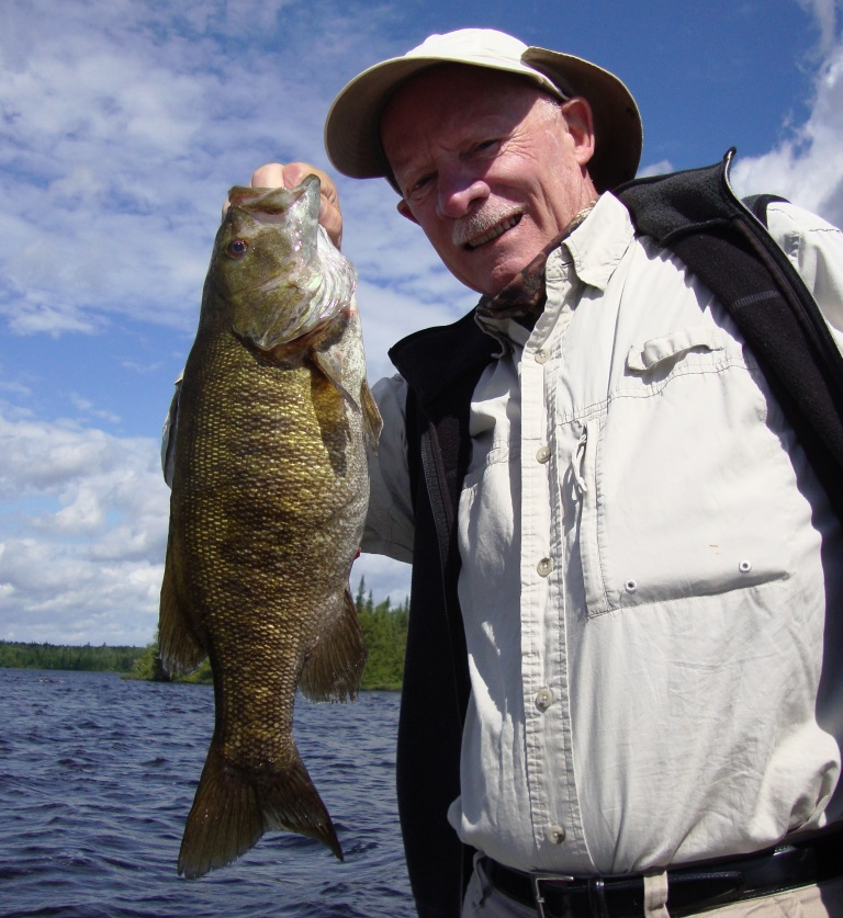 Great small-mouth fishing